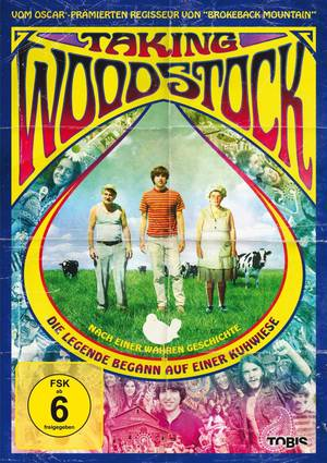 Taking Woodstock - Plakat/Cover