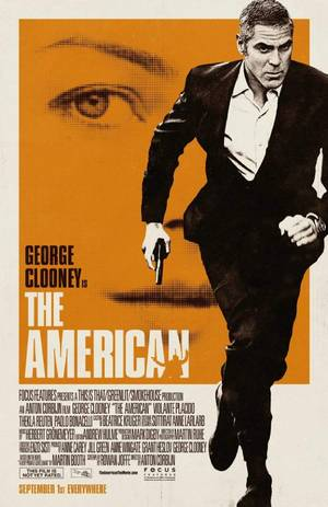 The American - Plakat/Cover