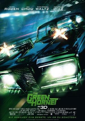 The Green Hornet - Plakat/Cover