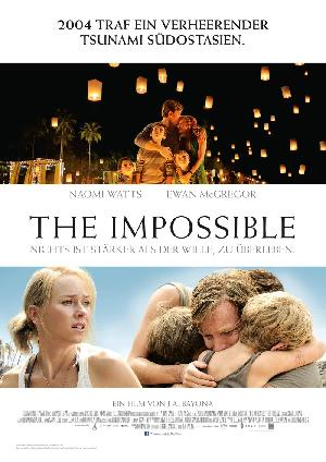 The Impossible - Plakat/Cover