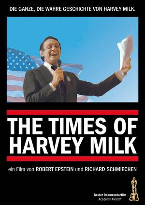The Times of Harvey Milk - Plakat/Cover