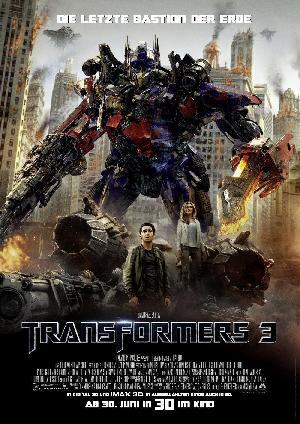 Transformers 3 - Plakat/Cover