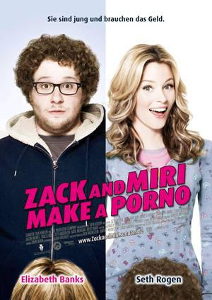 Zack and Miri Make a Porno - Plakat/Cover
