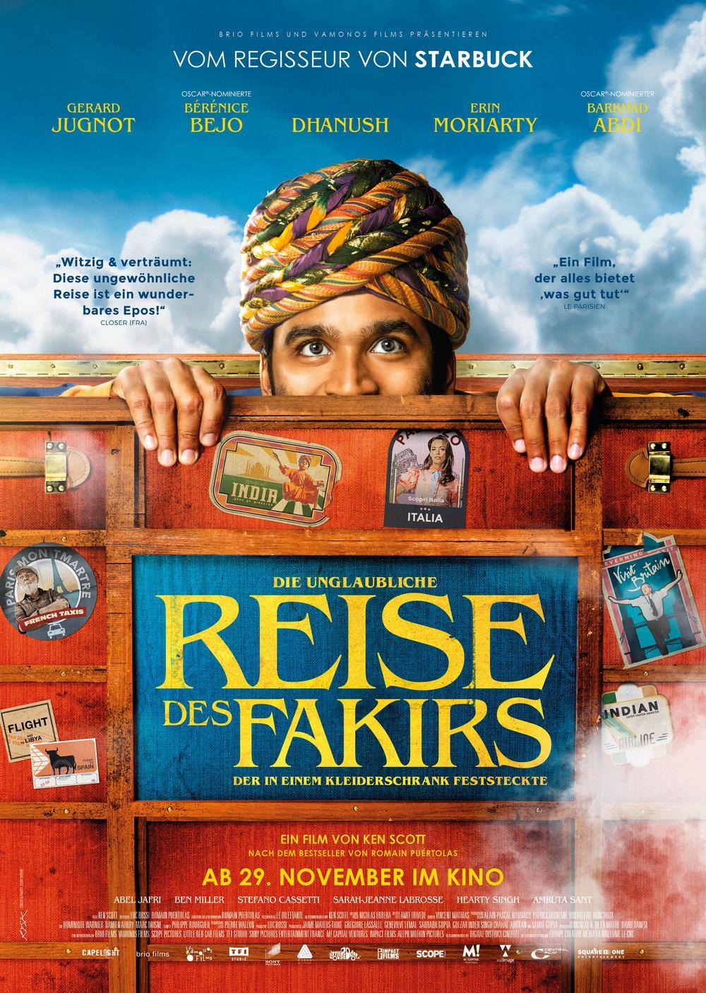 Die Unglaubliche Reise Des Fakirs Film