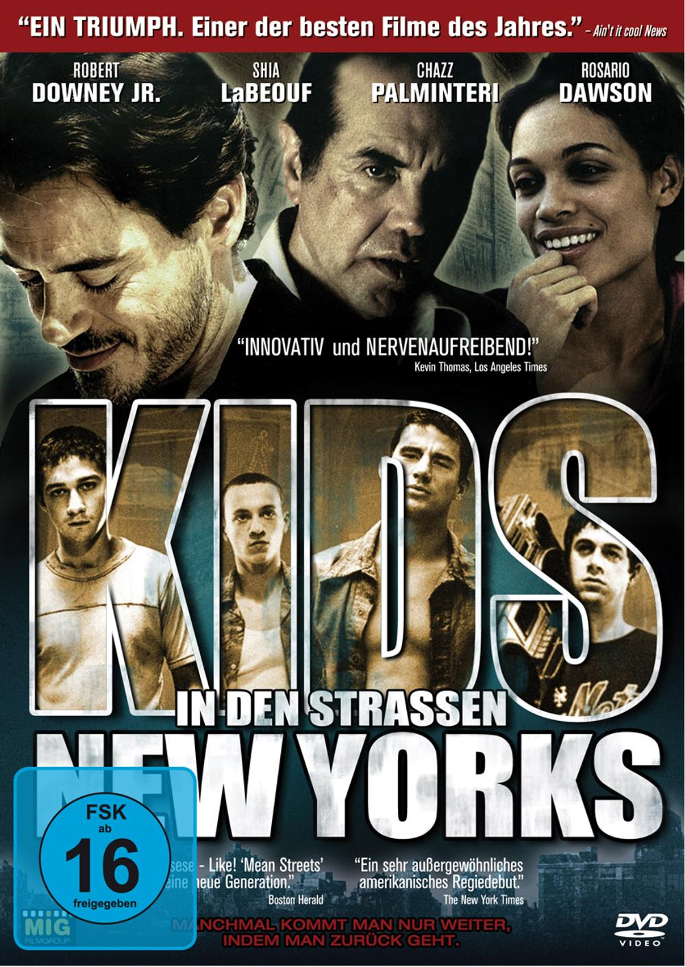 Kids In Den Strassen New Yorks